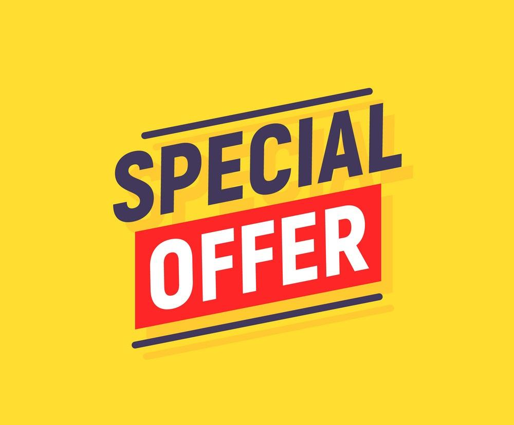 special offer banner poster background sale vector 26165374