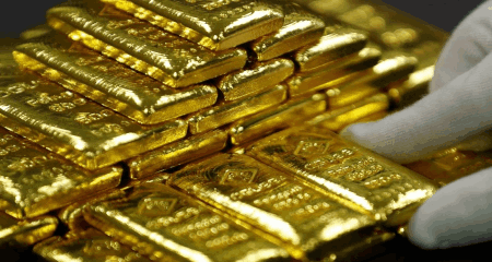 Gold is breaking higher as the US dollar rebound loses steam