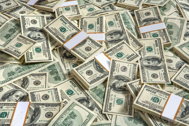 27434641 background with money american hundred dollar bills studio photography of usd