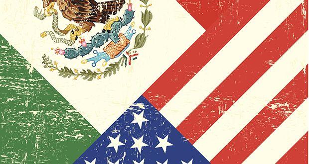 US Mexiko kennzeichnet 620