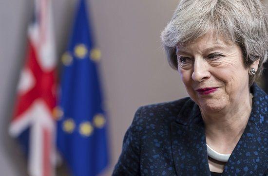 تيريزا قد brexit