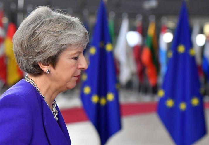 تيريزا قد brexit 1