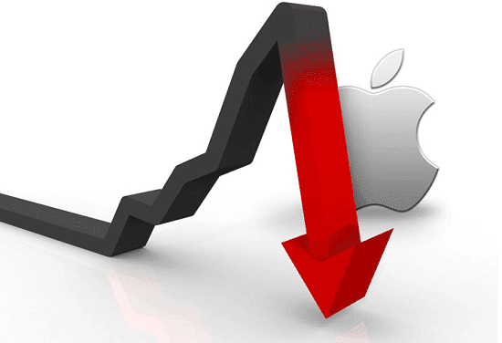 Apple stock's bad form resumes on Friday