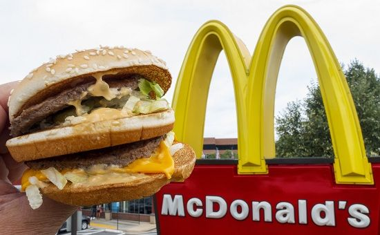 McDonald's sales up by 5.7%